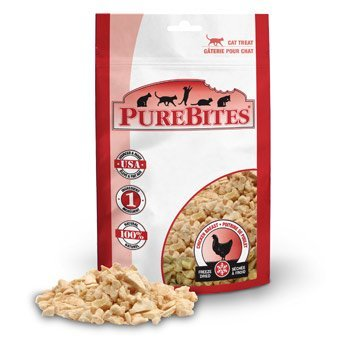 Chicken Breast Freeze-Dried Cat Treats by PureBites