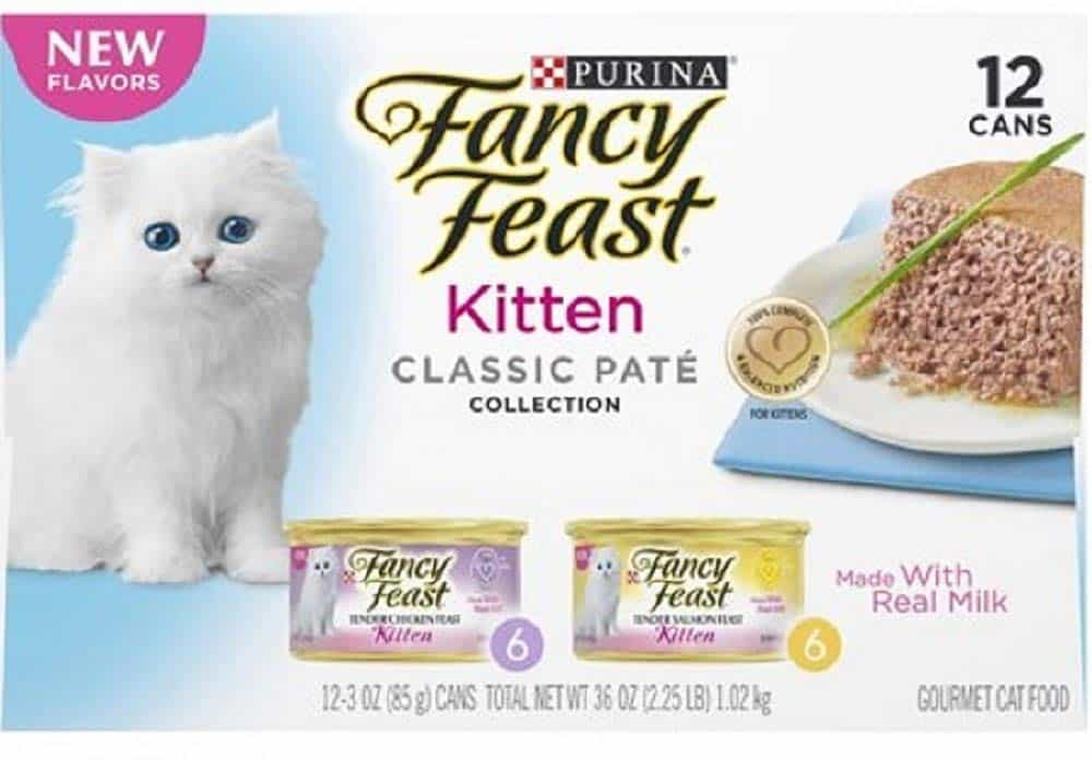 Fancy Feast Kitten Canned Wet Cat Food by Purina