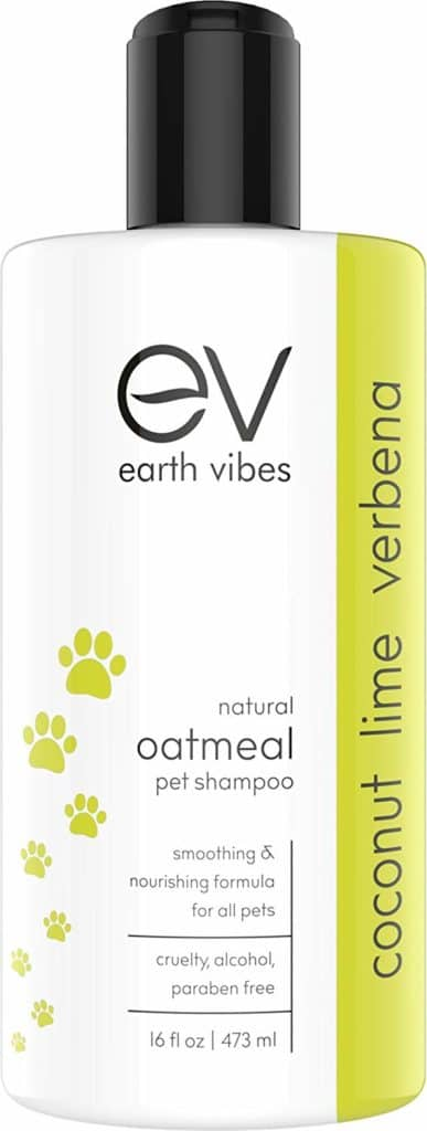 Natural Oatmeal Pet Shampoo and Conditioner for Pets by Earth Vibes