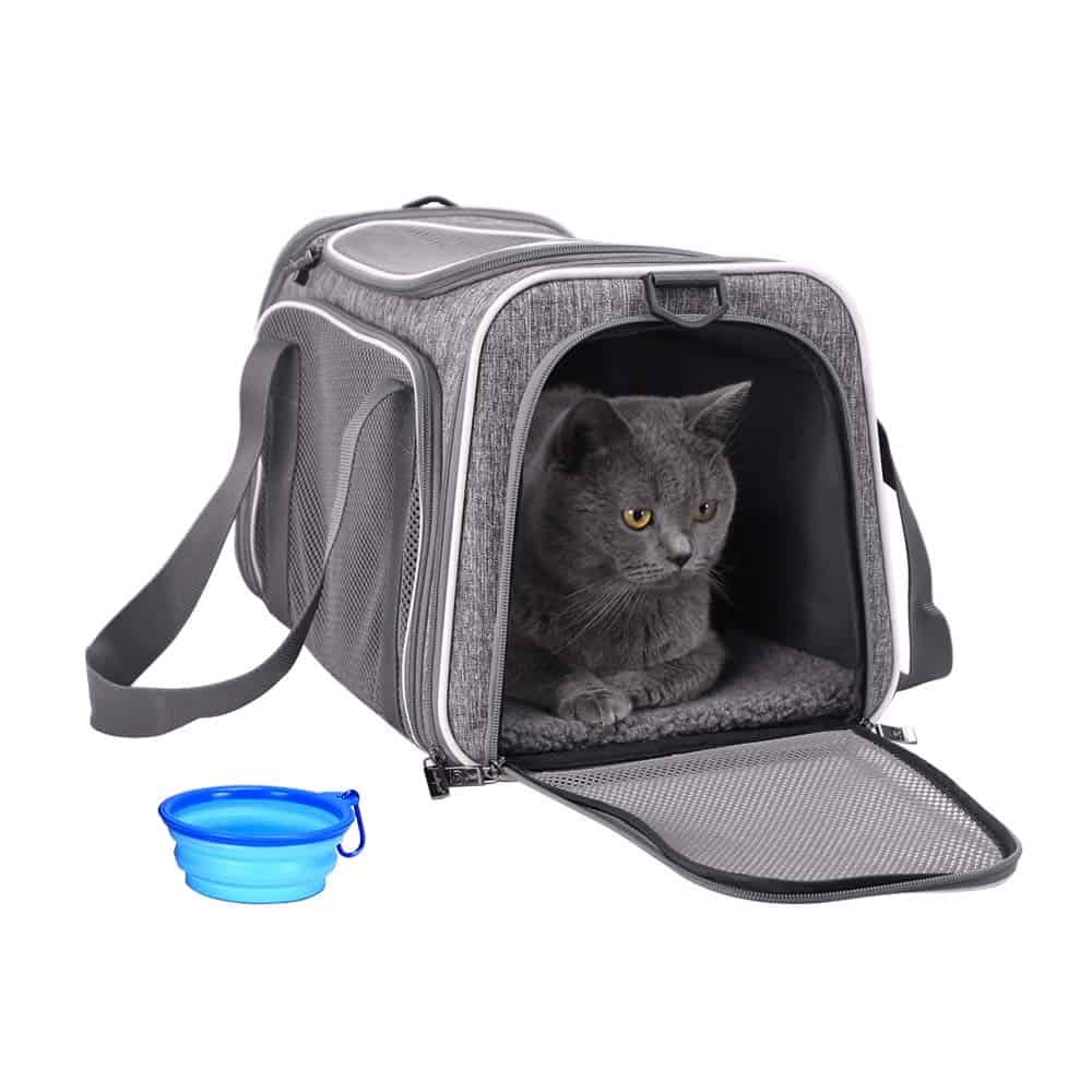 Pet Carrier for Cats and Dogs by petisfam