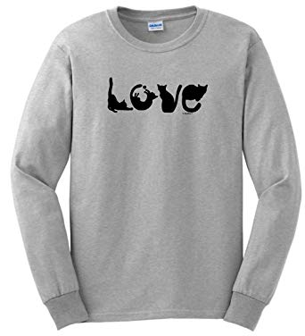 Cat lover's Long Sleeve T-Shirt by ThisWear