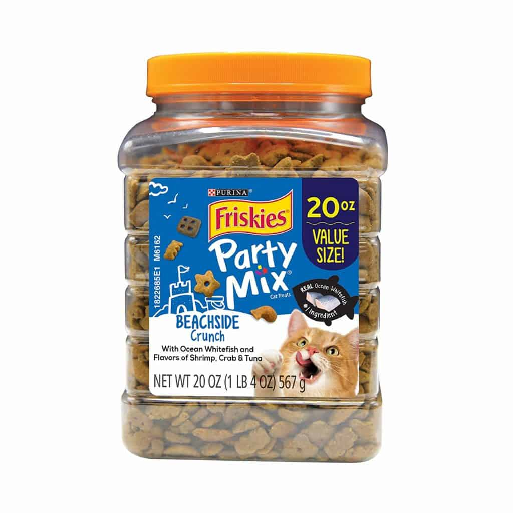 Party Mix Adult Cat Treats by Purina Friskies