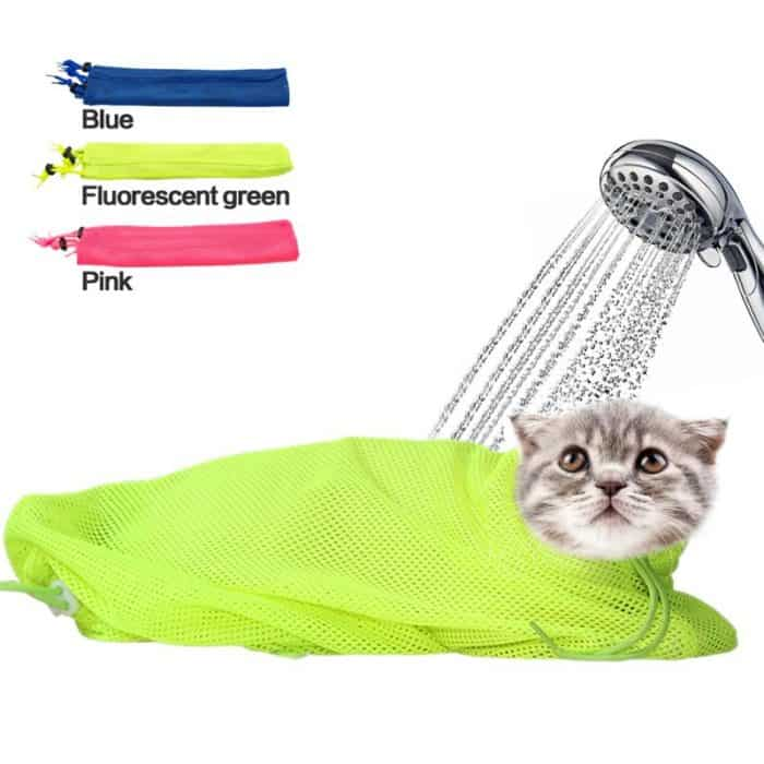 Cats Restraining Bag For Grooming And Bathing
