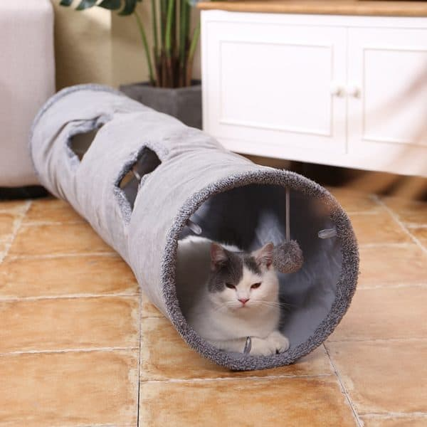 All 6 Cats in My Family Go Nuts Over This Giant Unicorn Tunnel